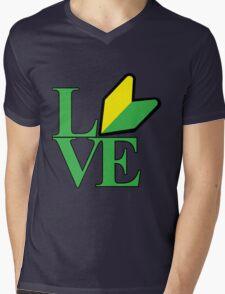 LOVE JDM Mens V-Neck T-Shirt
