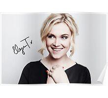 Eliza Taylor - TCAs 2016 (w/ sig.) Poster