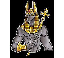 Anubis Egyptian God  Photographic Print
