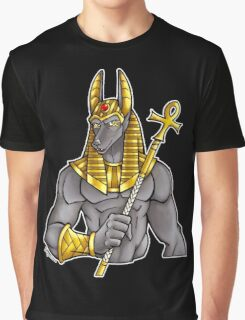 Anubis Egyptian God  Graphic T-Shirt