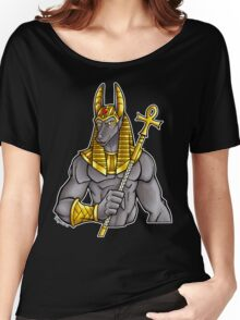 Anubis Egyptian God  Women's Relaxed Fit T-Shirt