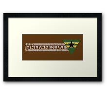 Browncoat Framed Print