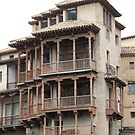 Hanging Houses, Cuenca by Sally Haldane