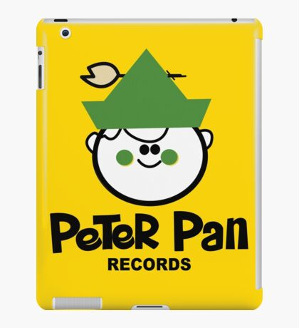 Peter Pan Records - Version 2  iPad Case/Skin