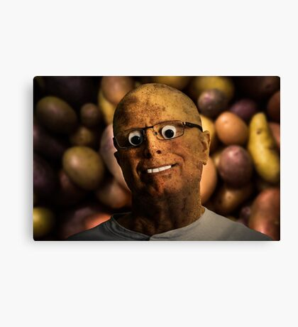 The aPeel of Mr Potato Head Canvas Print