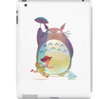 Totoro Umberella iPad Case/Skin