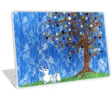 Wonderful Button Tree Laptop Skin