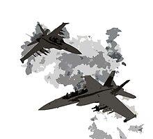 War Jets by Redjevel