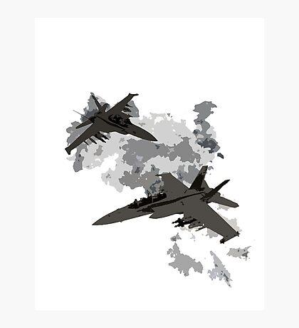 War Jets Photographic Print
