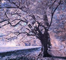 Blossoms In Winter by Georgiana Romanovna