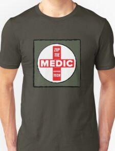Zip Tie Medic Technician Unisex T-Shirt