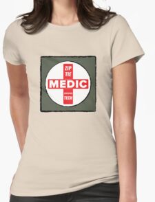 Zip Tie Medic Technician Womens Fitted T-Shirt