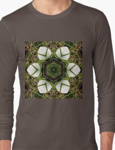 Kaleidoscope of puffball fungus Long Sleeve T-Shirt