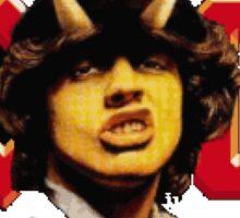 ac/dc classic rock Sticker