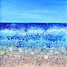 Deco beach by Regina Valluzzi