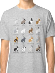 rabbits colour genetics Classic T-Shirt