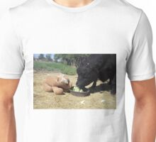 Snack Time for Jobie and Pony Unisex T-Shirt