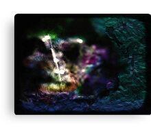 Vibrant sword Canvas Print