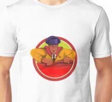 Matador Cape Front Circle Watercolor Unisex T-Shirt