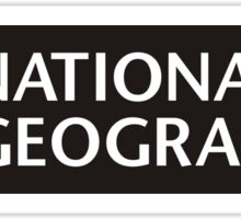 National Geographic logo Sticker