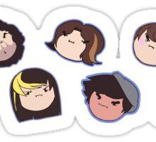 GRUMP HEADS Sticker