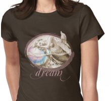 Sweet Dreams (Sepia Version) Womens Fitted T-Shirt