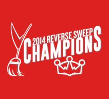Reverse Sweep Champions (White) Kids Clothes