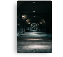 Grey Walk Way Canvas Print