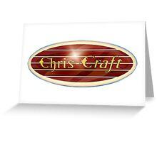 Chris Craft Boats USA Greeting Card
