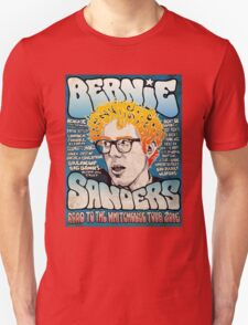Bernie Sanders Road To The Whitehouse Tour 2016 Unisex T-Shirt