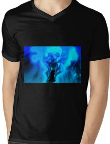 Necromancy Blues Mens V-Neck T-Shirt
