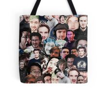 """gamer trinity"" collage Tote Bag"