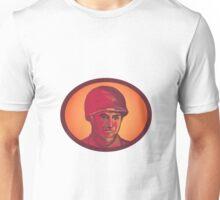 World War Two American Soldier Head Watercolor Unisex T-Shirt