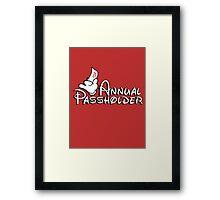 Passholder Framed Print