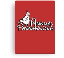 Passholder Canvas Print