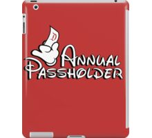 Passholder iPad Case/Skin