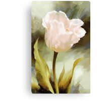 A Flower For Charity Canvas Print