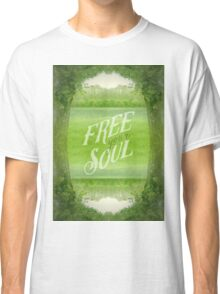 Free Your Soul Grand Canal Forest Fontainebleau Chateau Classic T-Shirt