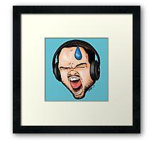 Gamer Rage Framed Print
