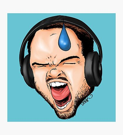 Gamer Rage Photographic Print