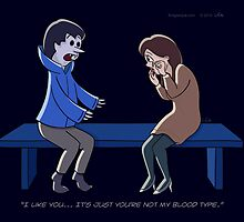 Not My Blood Type by Thingsesque