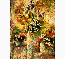 Autumn Bounty - Abstract Expressionism Womens Fitted T-Shirt