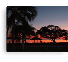 REST AND RECEIVE Canvas Print