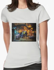 At the Grand Bazaar Womens Fitted T-Shirt