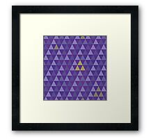 May the tri-force be with you Framed Print