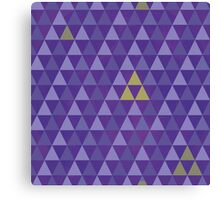 May the tri-force be with you Canvas Print