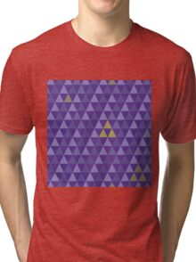 May the tri-force be with you Tri-blend T-Shirt