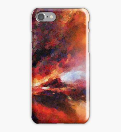 Genesis Abstract Expressionism Art iPhone Case/Skin