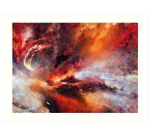 Genesis Abstract Expressionism Art Art Print
