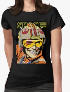 Space Oddity Womens Fitted T-Shirt